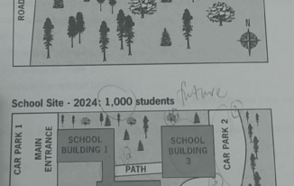 IELTS Writing Task 1 - Design new school building plan