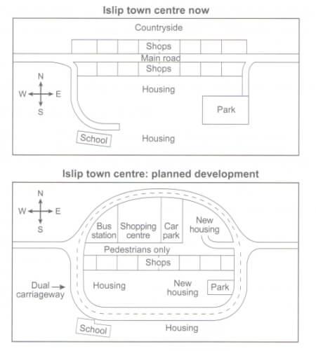 Islip town centre development