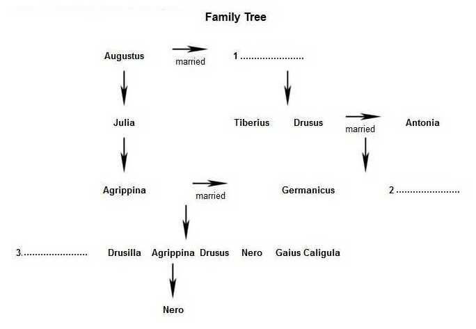 ielts reading - the family of germanicus