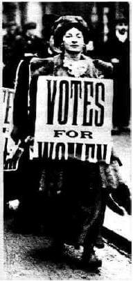 ielts reading - votes for women