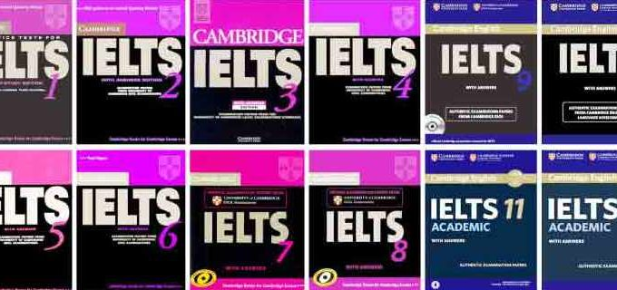 Download Cambridge IELTS Test Series 1 – 15 with PDF + CD